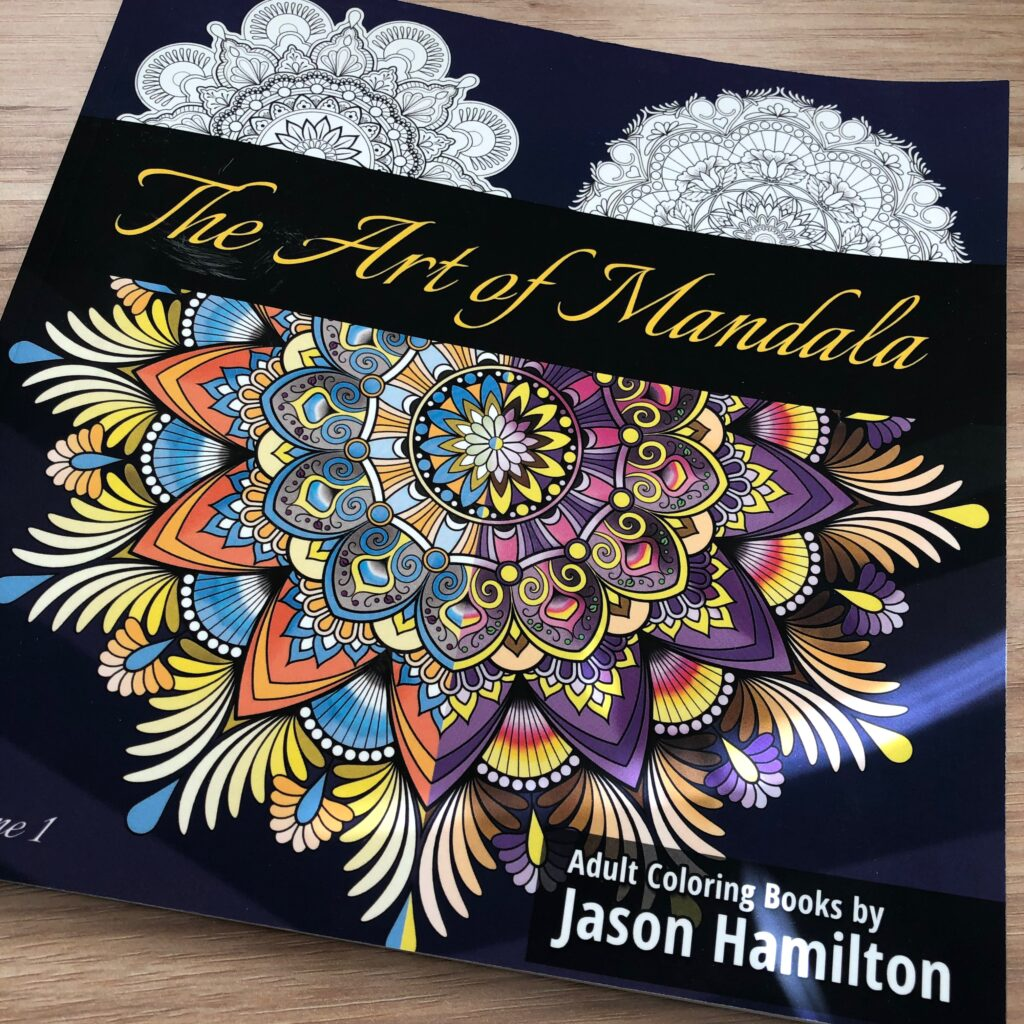 The Art of the Mandala adult coloring book - gift idea for remote teachers
