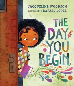 """Cover of the book """"The Day You Begin"""""""